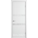 Дверное полотно K6ДО0№800*2000 стекло ультра белое (59 Ю)
