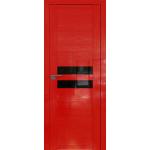 Дверь Pine Red glossy № 2.03 STP черный лак 2000*800