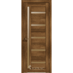 Дверное полотно GLLight 18 800*2000 дуб корица брон.сат. (Ю)