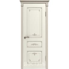 Дверное полотно 44ДГ01№800*2000 патина капучино (Ю)
