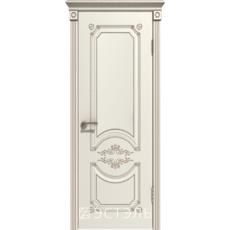 Дверное полотно 42ДО1№800х2000 патина капучино стекло бронза