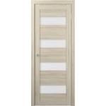Door leaf MDF ПВДЧ 20-8 (Арт.ST2 ECO KAPUCHINO)
