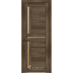 Дверное полотно GLLight 16 800*2000 дуб трюфель брон.сат.(Ю)