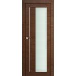 Двери Малага черри кроскут №47 Х AL стекло Varga 2000*800