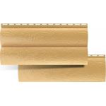 Сайдинг Брус Бежевый Альта-Профиль ПВХ Золотистый виниловый ВН-03 – 3,10 х 0,226 м