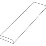 Нащельник 3D Flex (Белый, 30х 8х2100)