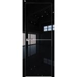 12LK 800*2000 Черный люкс матовая с 4-х сторон Eclipse 190
