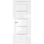 Дверь Белый люкс № 2.09 L стекло матовое 2000*800