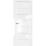 Дверь Белый люкс № 2.07 L AL глухая 2000*800