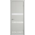 K6 COLORIT ДО белый лак 800*2000 Светло-серая эмаль