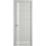 Дверное полотно К4ДО02№800х2000 стекло ультра белое (50 Ю)