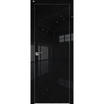 Дверь 1 VG Черный глянец 2000*800 (190) кромка с 4-х сторон хром Eclipse