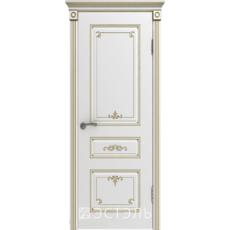 Дверное полотно 44ДГ0№800*2000 патина золото (Ю)