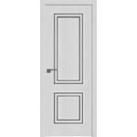Дверь Монблан №52 ZN 2000*800 багет серебро глянец, кромка ABS c 4-х сторон в цвет