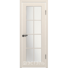 Дверное полотно 20ДО01№800х2000 бел.сатинат (Ю)