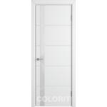 Дверное полотно К4ДО0№800*2000 стекло ультра белое (50 Ю)