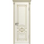 Дверное полотно 42ДГ01№800х2000 патина золото (Ю)