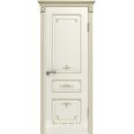 Дверное полотно 44ДГ01№800*2000 патина золото (Ю)