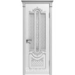 Дверное полотно 41ДО0№800х2000 патина серебро (Ю)