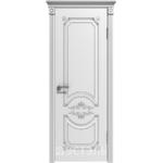 Дверное полотно 42ДГ0№800*2000 патина серебро